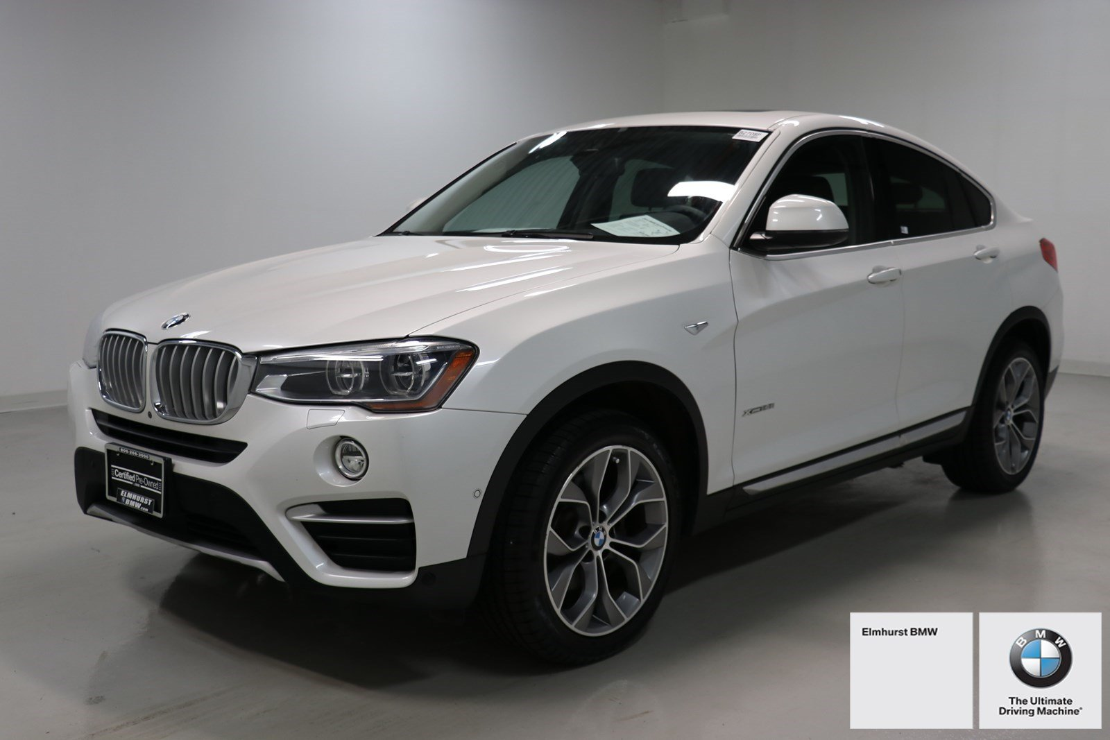 Certified Pre Owned 2015 BMW X4 XDrive28i