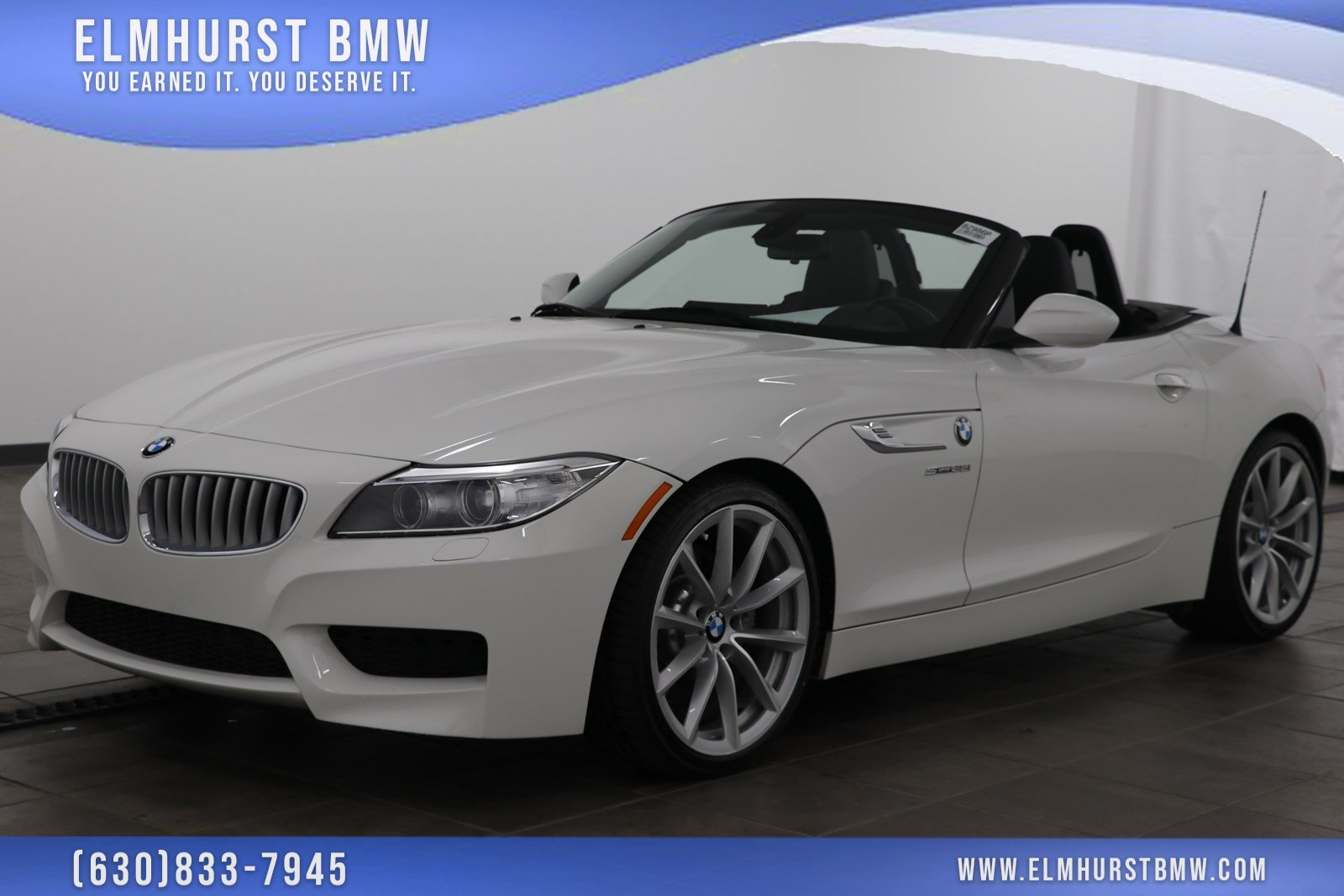 Certified Pre Owned 2015 Bmw Z4 Sdrive35i Convertible In Elmhurst